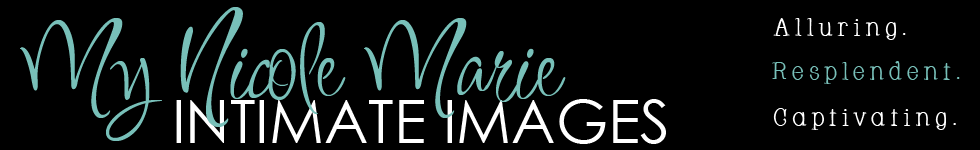Alluring, Resplendent and Captivating Boudoir Images by My Nicole Marie logo